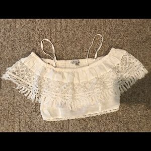 American Eagle crop top exc used cond